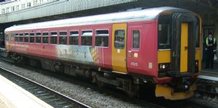 Class 153 Single-Car DMU - OO